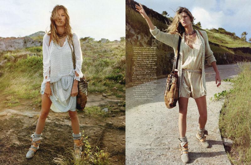gisele bundchen6 Gisele Bündchen za aprilski Vogue Paris