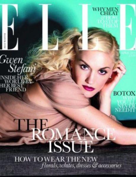 """Gwen Stefani za britanski """"Elle"""""""