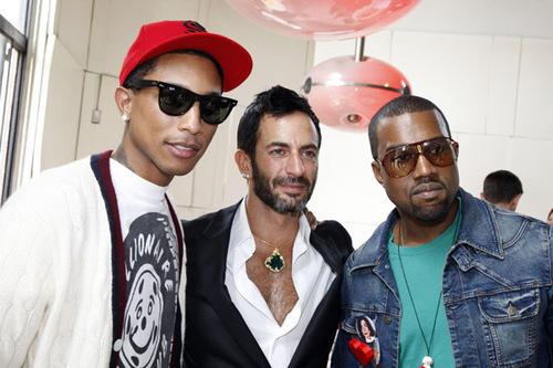kanye pharrell marc jacobs Hip hop sa stilom: momci sa brendovima