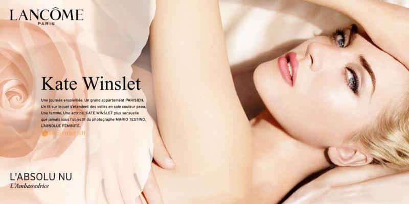 kate winslet for lancome Kate Winslet