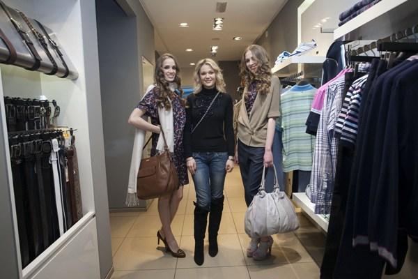 lena kovacevic i modeli1 Hugo Boss Womenswear za proleće/leto 2011.