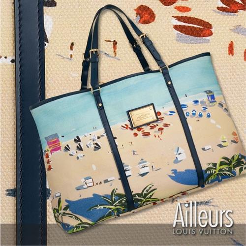 lv bag 1 Louis Vuitton Ailleurs kolekcija aksesoara za leto 2011.