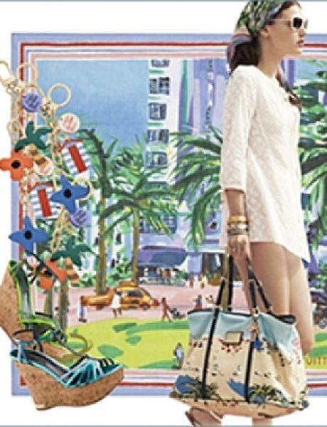 """Louis Vuitton """"Ailleurs"""" kolekcija aksesoara za leto 2011."""