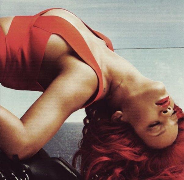 rihanna vogue1 Rihanna za aprilski Vogue