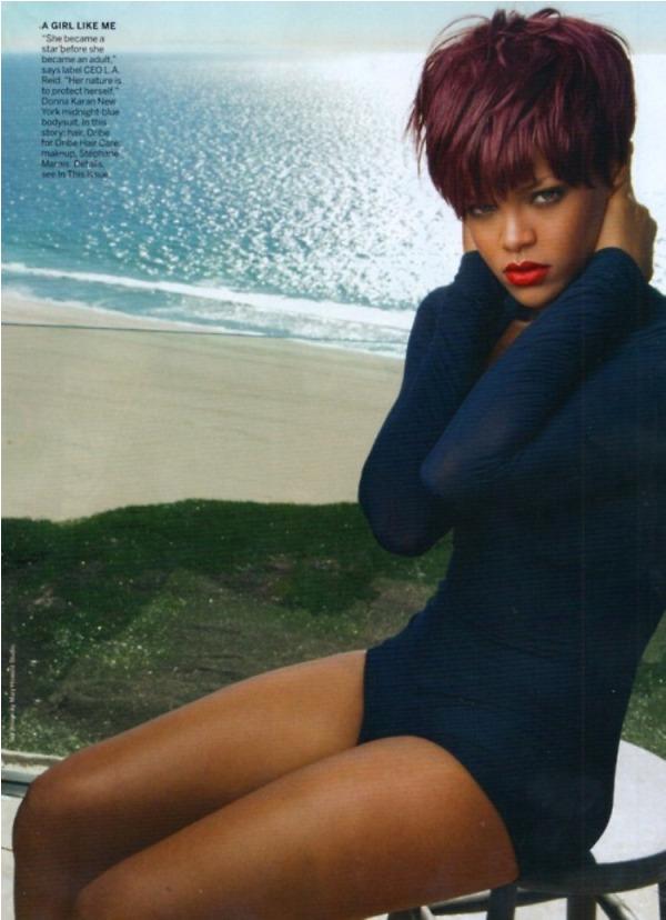 rihanna vogue3 Rihanna za aprilski Vogue