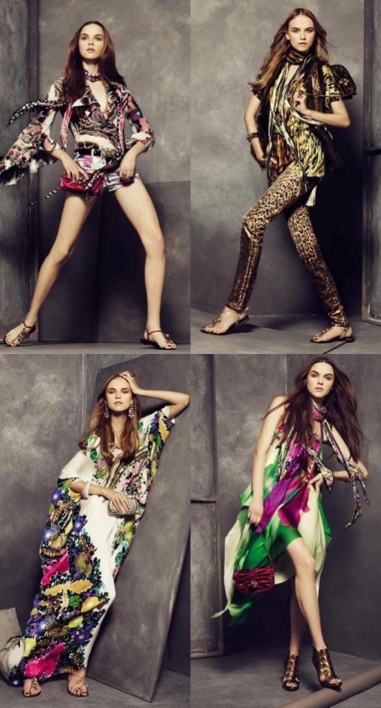 roberto cavalli lookbook spring 2011 nyc fashion 3 Roberto Cavalli lookbook proleće/leto 2011.