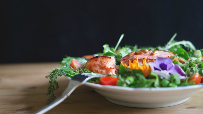 salata od teleceg mesa Salata od telećeg mesa i paprika