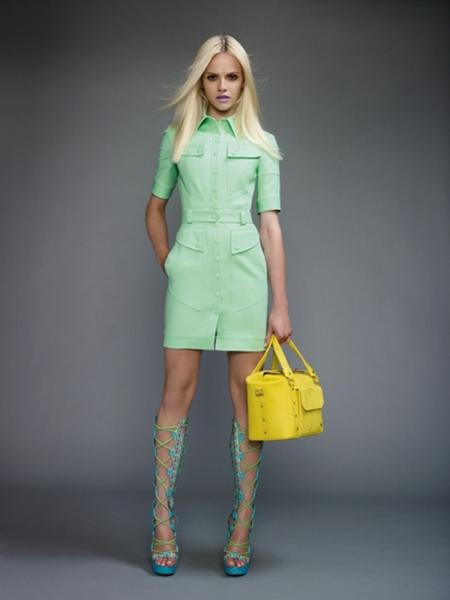 versace2011spring13 Versace lookbook proleće/leto 2011.