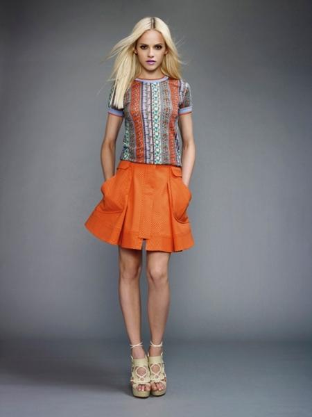 versace2011springwomen5 Versace lookbook proleće/leto 2011.