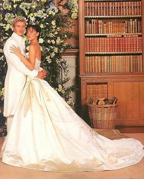 victoria beckham and david beckham wedding 20 najskupljih venčanja   prvi deo