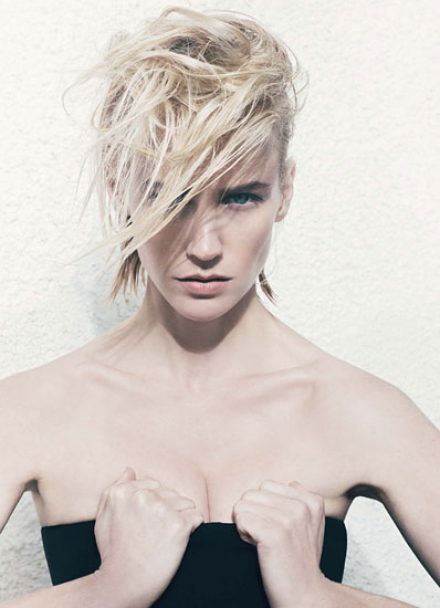 01 January Jones za W Magazine