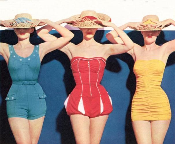 1954 May Seventeen.224151912 std Vintage swimwear