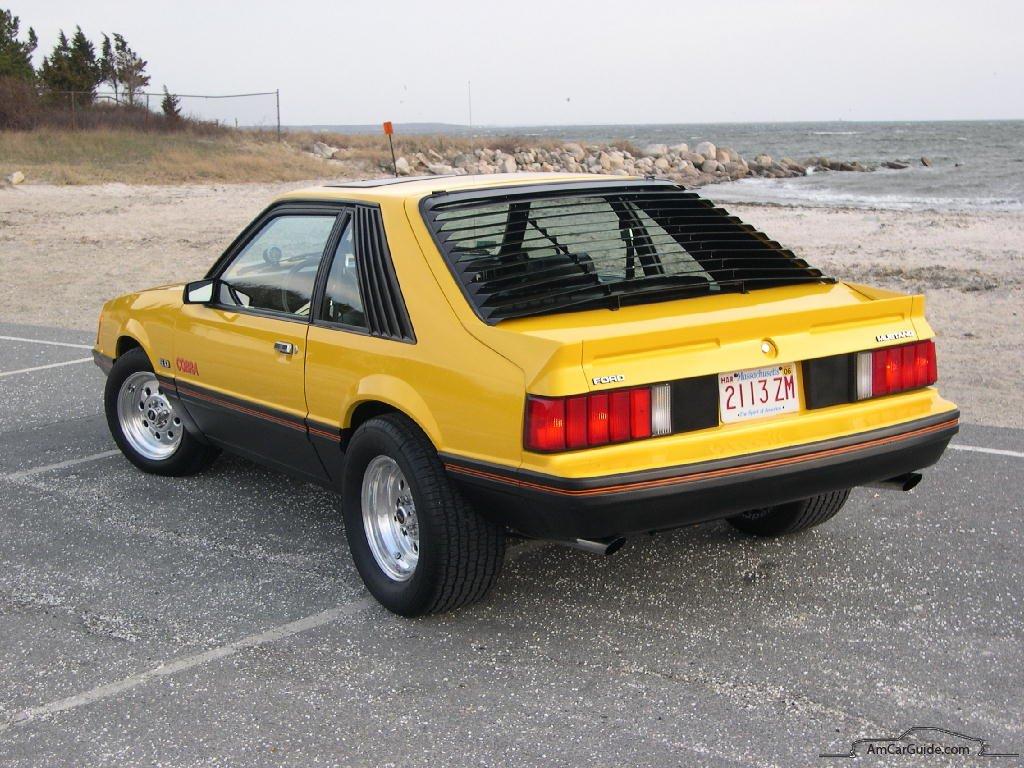 1979 ford mustang cobra rear Legenda o Ford Mustangu