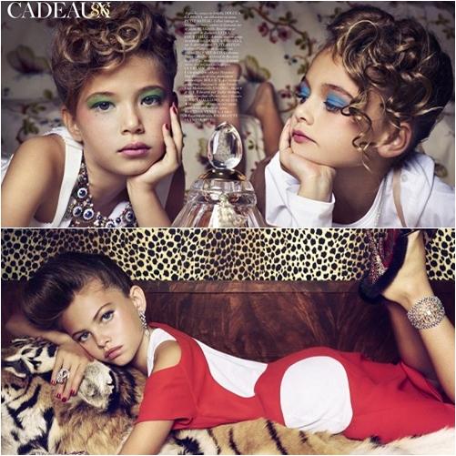 24 Vogue Paris: Editorial Cadeaux