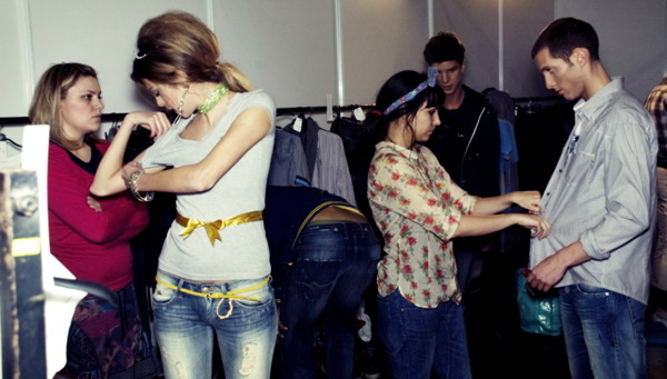 24a 29. Belgrade Fashion Week: backstage