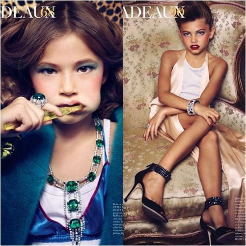 37 Vogue Paris: Editorial Cadeaux