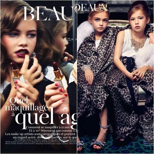 55 Vogue Paris: Editorial Cadeaux