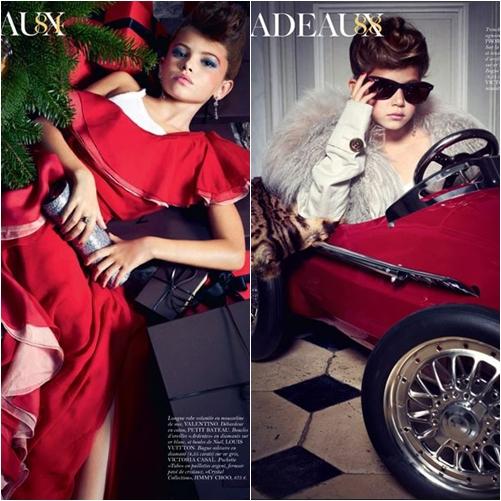 62 Vogue Paris: Editorial Cadeaux