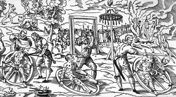 800px Breaking Wheel Muzej srednjovekovnih sprava za mučenje, Prag