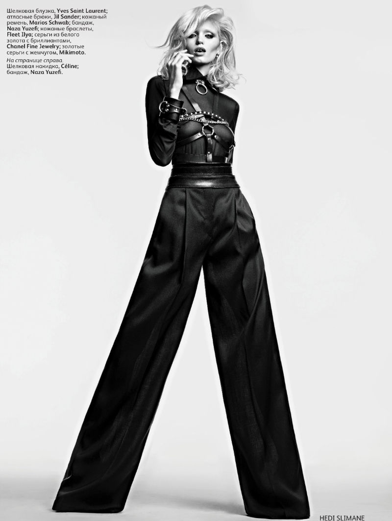Abbey Lee Kershaw for Vogue Russia 3 Abbey Lee Kershaw za ruski Vogue