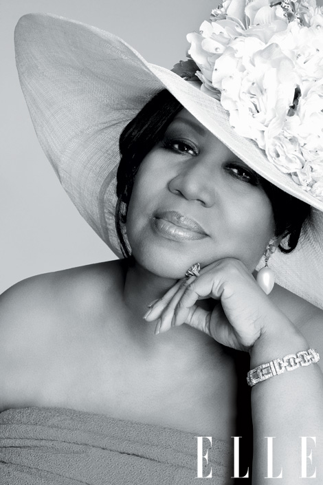 Aretha Franklin Elle Women In Music