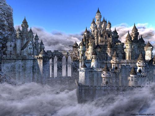 Avalon castle Destinacije iz mitova i legendi