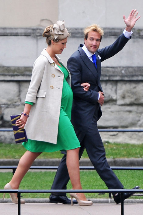 Ben Fogle and Marina Fogle Royal Wedding Fashion