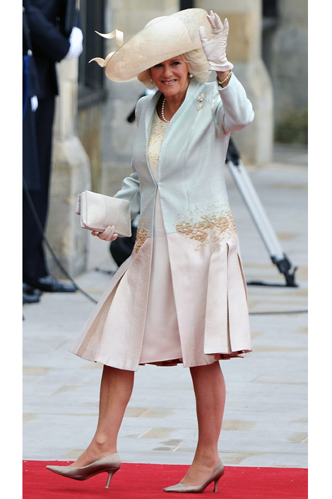 Camilla Duchess of Cornwall Royal Wedding Fashion