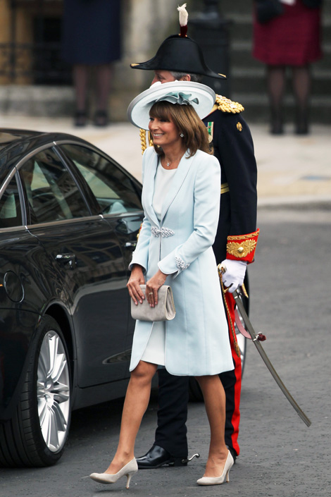 Carole Middleton Mother of the Bride Royal Wedding Fashion