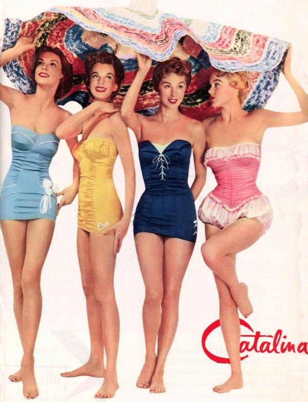 Catalina 1954.224152033 large Vintage swimwear