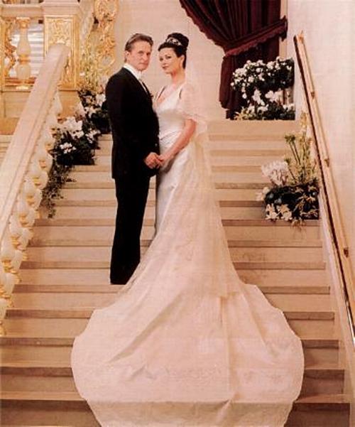 Catherine Zeta Jones Michael Douglas 20 najskupljih venčanja   drugi deo