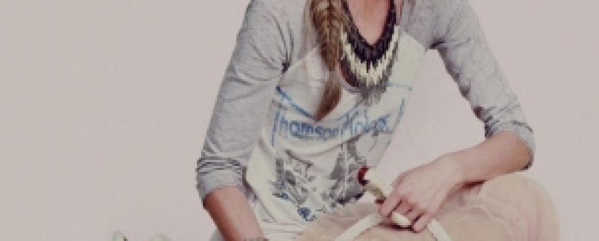 Sasha Pivovarova za Free People april 2011. Lookbook