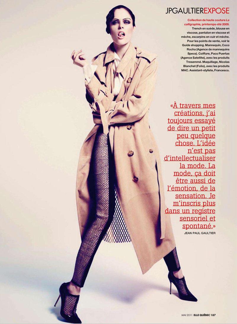 Coco Rocha by Nelson Simoneau 8 Coco Rocha za Elle Canada