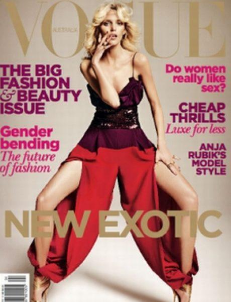 """Anja Rubik za """"Vogue Australia"""""""