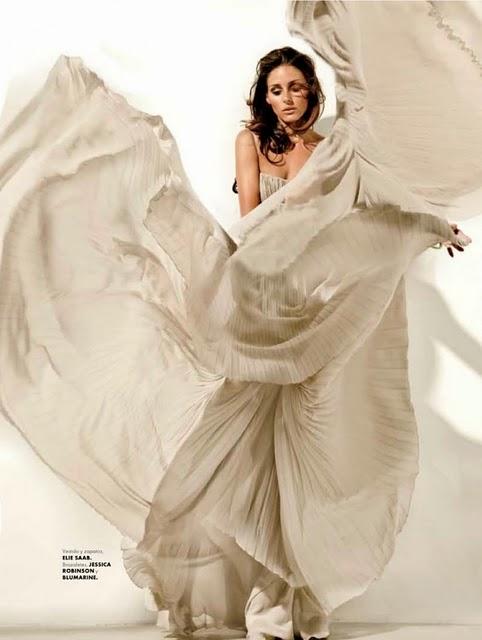 Elie Saab Olivia Palermo za Elle Mexico