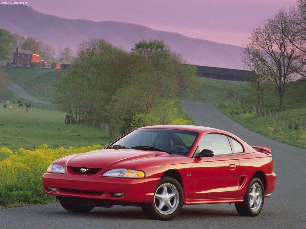 Ford Mustang GT 1996 1024x768 wallpaper 01 Legenda o Ford Mustangu