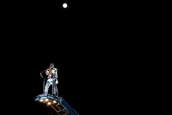 KANYE3 Kanye West @ Coachella 2011.
