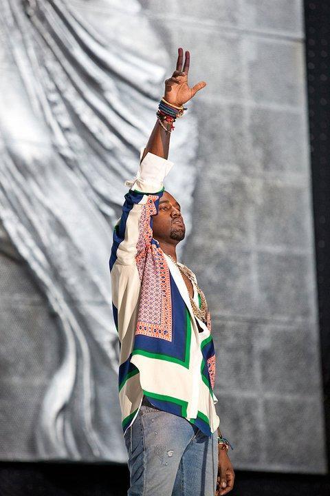 KANYE7 Kanye West @ Coachella 2011.