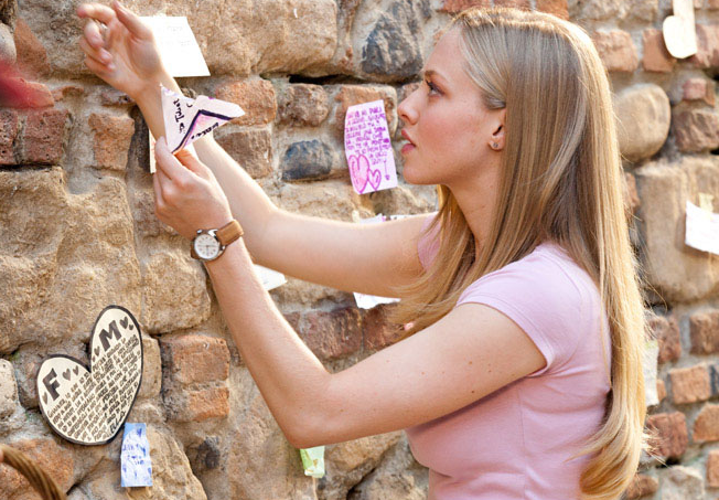 Letters to Juliet juliet wall Pisma Juliji