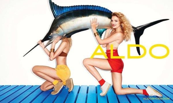 Lily Donaldson for Aldo Spring 2011 Campaign 2 Aldo proleće 2011. reklamna kampanja
