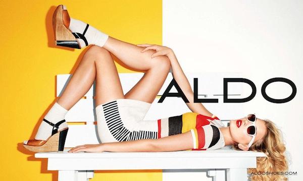 Lily Donaldson for Aldo Spring 2011 Campaign 3 Aldo proleće 2011. reklamna kampanja