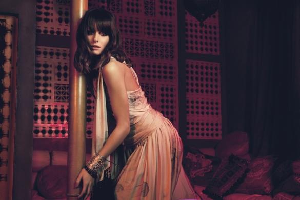 Marchesa jumpsuit price upon requests at Marchesa  Ben Amun cuff 3701 Olivia Palermo za StyleCaster