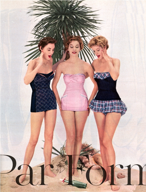 Par Form Swimwear 1954.224183945 large Vintage swimwear