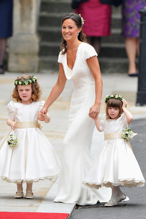 Pippa Middleton Royal Wedding Fashion