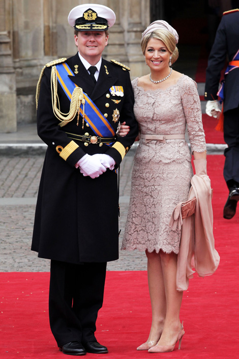 Princess Maxima of The Netherlands Royal Wedding Fashion