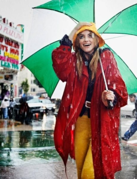 """Elle Italia"": The Rain Girl"