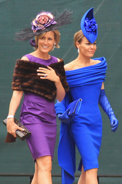 Tara Palmer Tomkinson Royal Wedding Fashion