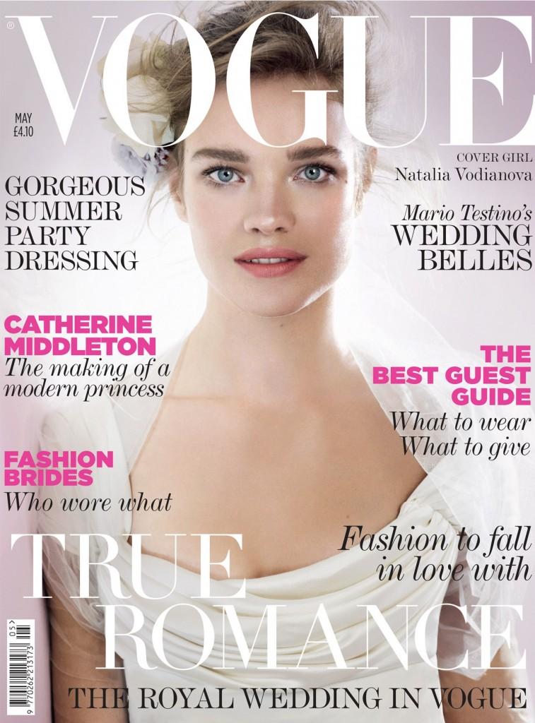 Vogue May Natalia Vodianova 757x1024 Britanski Vogue najavljuje kraljevsko venčanje