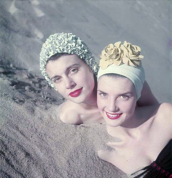 bathing caps Loomis Deam LIFE.224151512 large Vintage swimwear