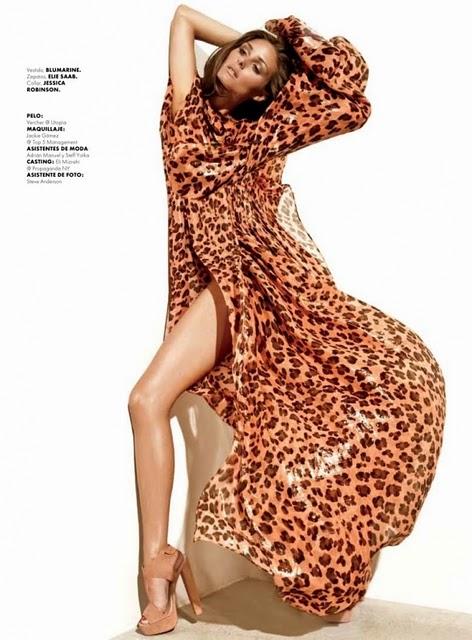 blumarine Olivia Palermo za Elle Mexico